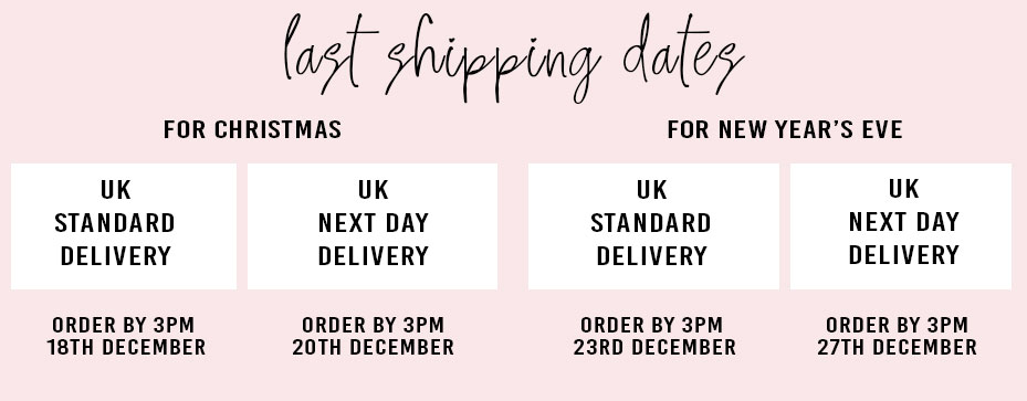 Order to Receive Before Christmas UK Dates